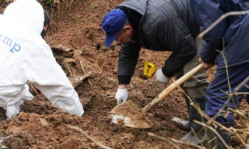 Ekshumacija na području Vlasenice, pronađeni posmrtni ostaci jedne žene