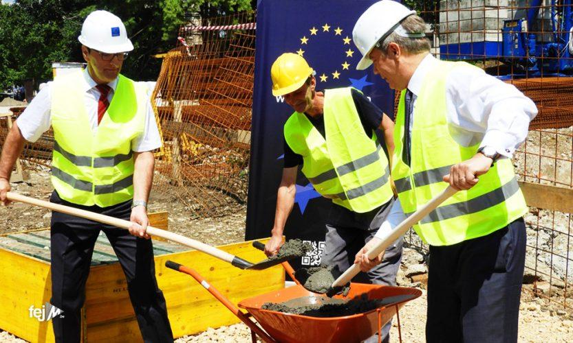 Wigemark položio kamen temeljac za izgradnju zgrade Općinskog suda u Tuzli