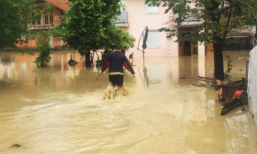 Kalesija: Materijalne štete od poplava preko 2 miliona KM, jedna porodica evakuisana