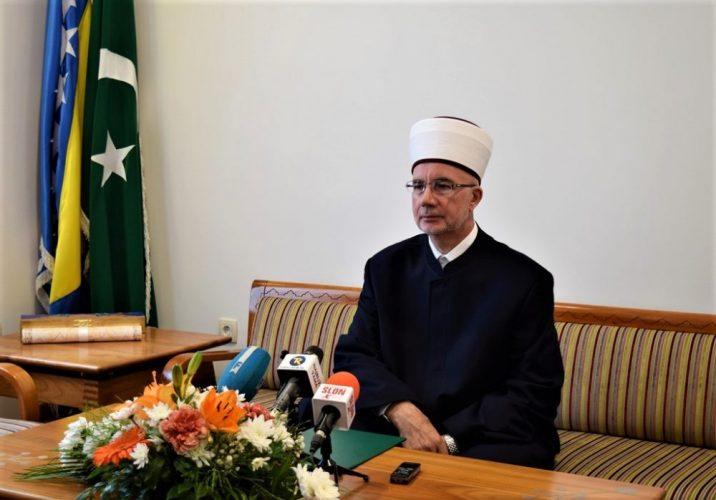 Muftija tuzlanski Vahid-ef. Fazlović u posjeti MIZ Gračanica