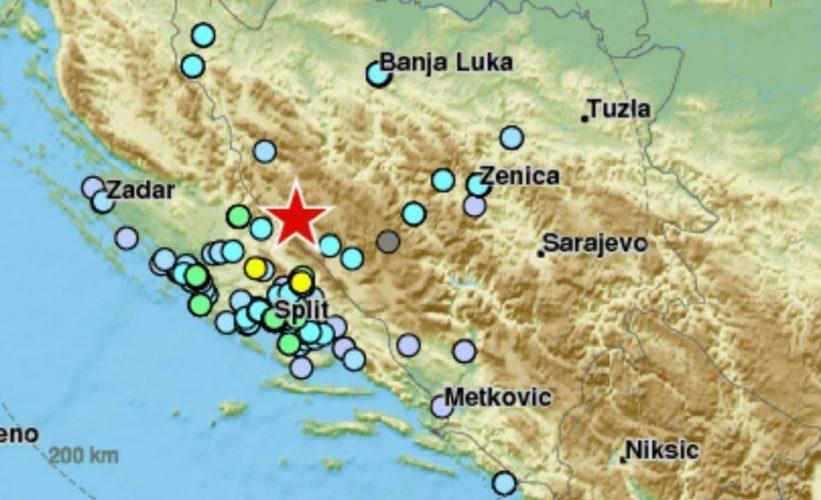 Tri zemljotresa jutros pogodila BiH