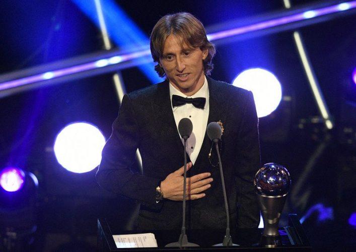 FIFA: Luka Modrić najbolji igrač svijeta za prošlu sezonu