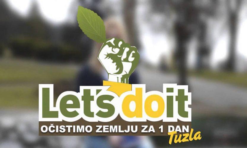 Sedma akcija čišćenja otpada na području Grada Tuzla: Let's Do It-očistimo zemlju za 1 dan