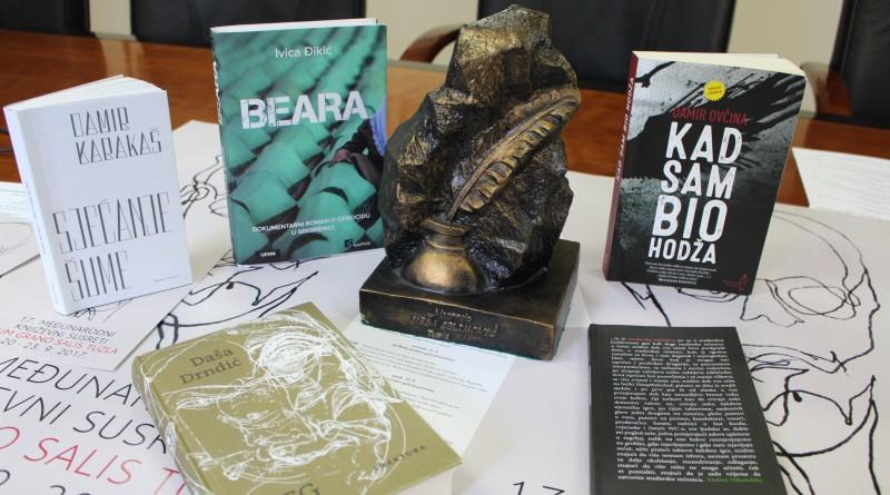 """Cum grano salis: Pet romana u užem izboru za nagradu """"Meša Selimović"""""""