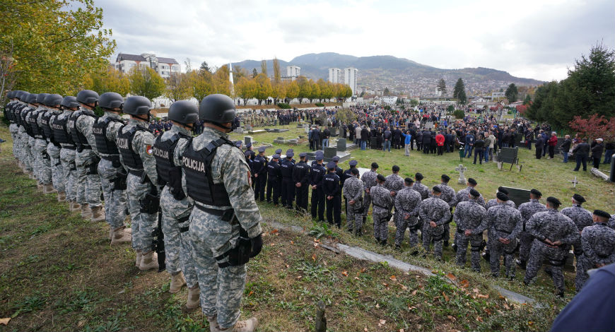 Posljednja počast hrabrim policajcima Šehoviću i Vujinoviću