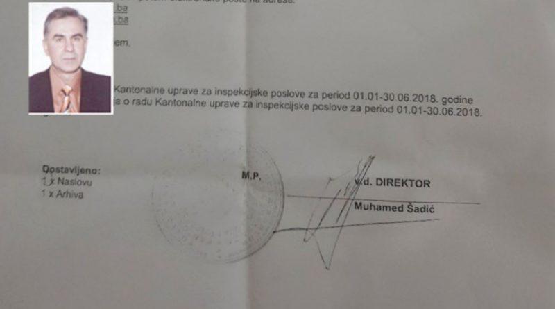 Federalna uprava policije i FUZIP istražuju zakonitost imenovanja direktora KUIP TK Muhameda Šadića ?!?