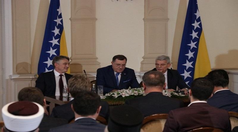 Džaferović, Dodik i Komšić o formiranju vlasti na državnom nivou
