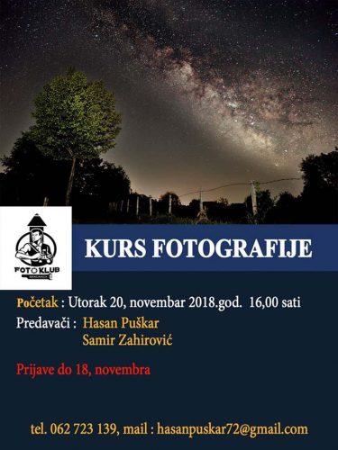 Kurs fotografije u Gračanici