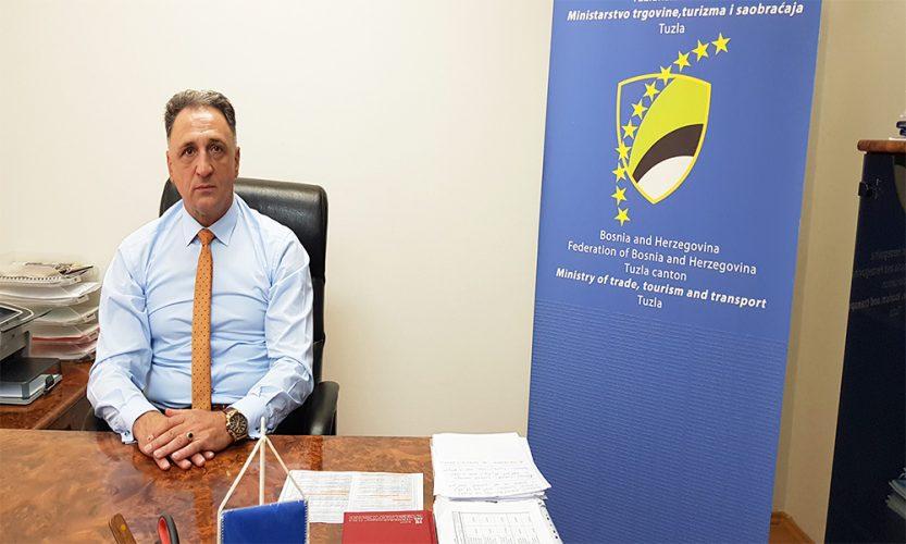 Ministar Gluhić za Fejm.ba: Razvoj turizma TK ne mogu pratiti smještajni kapaciteti