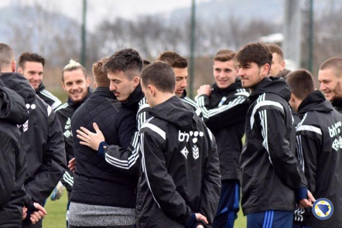 Marinović objavio spisak igrača za prijateljski susret s Azerbejdžanom