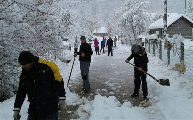 Repuh: Složno protiv snijega