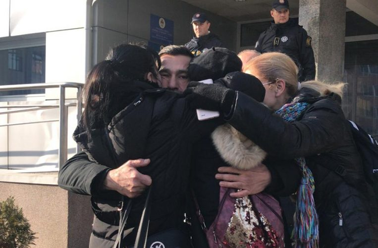 Davor Dragičević pušten na slobodu pa poručio da nastavlja proteste u Banjoj Luci