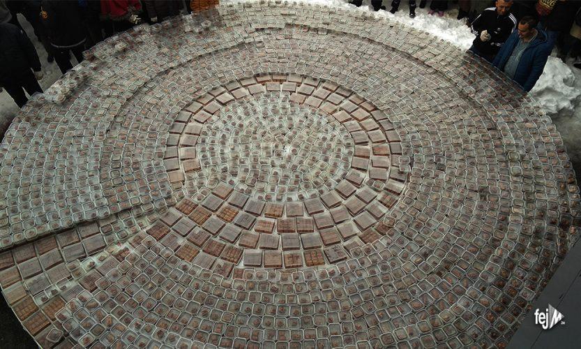Tuzlaci napravili baklavu tešku 800 kg, čeka se potvrda za Ginisov rekord