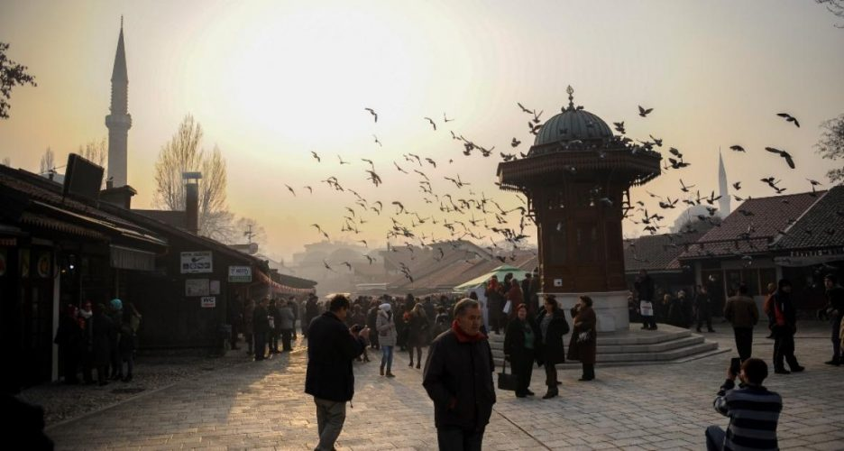 Od januara do oktobra ove godine broj turističkih posjeta BiH manji za 70,4 posto