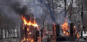 Do temelja izgorjela lovačka kuća u Gračanici