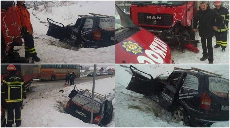 Tinja: Teška saobraćajna nesreća, jedna osoba povrijeđena