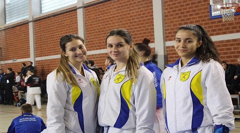 """Federalno prvenstvo u karateu: Dobar rezultat takmičarki KBS """"Tuzla-Sinbra"""""""