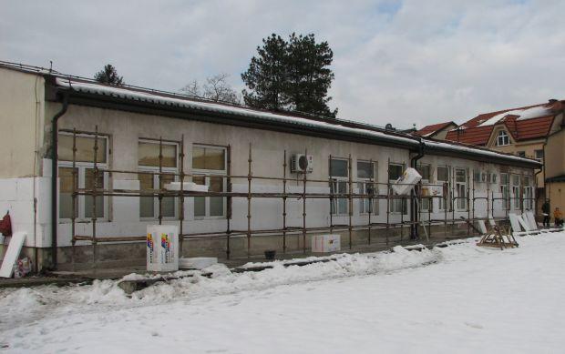 U toku rekonstrukcija starog dijela zgrade Dječijeg obdaništa