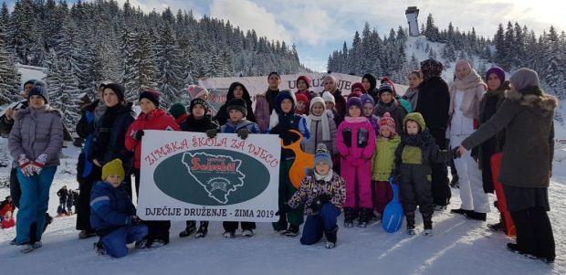 Izvor Selsebil: Odžana Zimska škola za djecu na Vlašiću