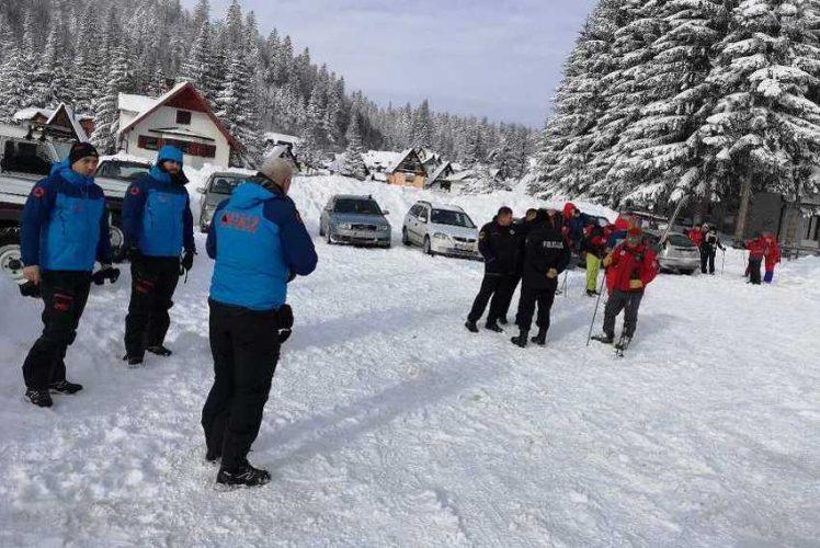 Stotinu osoba i dalje traži 22-godišnjaka na Ponijerima, snijeg otežava kretanje