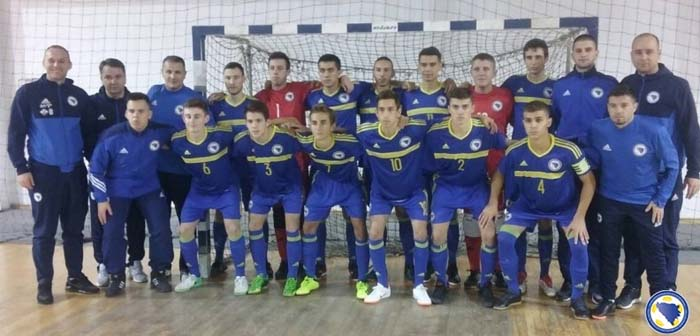 Prijateljski mečevi U-19 futsal selekcija BiH i Italije