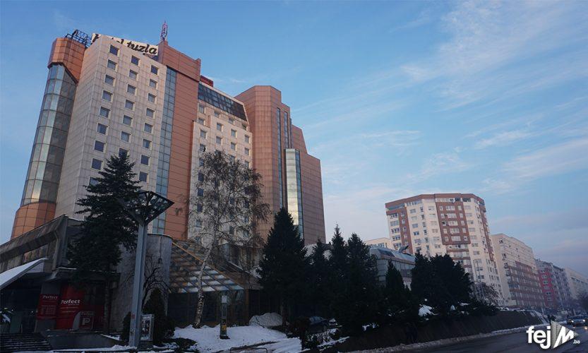 Zadnja tri sprata Hotela Tuzla bit će karantin za smještaj studenata koji sutra stižu iz Njemačke