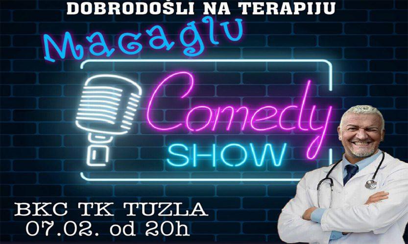 """Stand up komedija """"Macaglu"""", Dragana Marinkovića Mace u Tuzli i Gračanici 7. i 8. februara"""