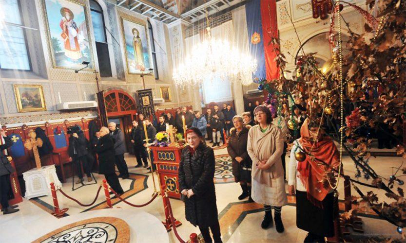 U Sabornom hramu u Tuzli služena božićna liturgija