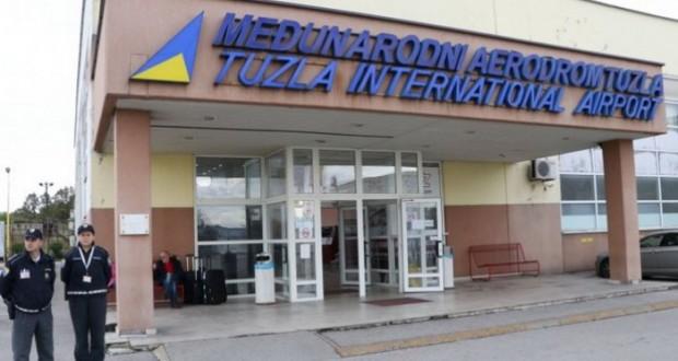 Aerodrom Tuzla deseti u regiji po broju putnika