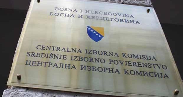 CIK BiH objavio preliminarne, nezvanične i nepotpune rezultate