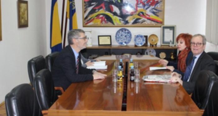 Ambasador Švedske, Nj.E. Anders Hagelberg, u posjeti Gradu Tuzli