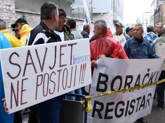 Predstavnici boraca danas o finansijskoj deblokadi u FBiH