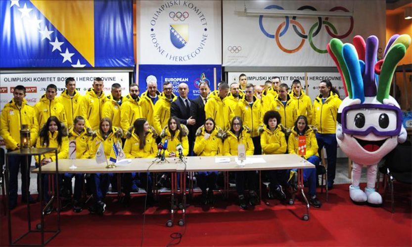 Predstavljen bh. tim za EYOF 2019: Cerić pali plamen, Alić nosi zastavu BiH