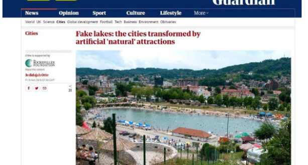 Guardian objavio tekst o Panonskim jezerima i Tuzlu poredio s Dubaijem