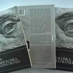 "Promocija knjige: ""Psihološka razmatranja"" - Paul Ree"