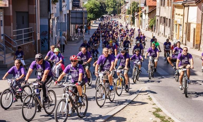'Ljubičasti bike dan' 30. marta u Tuzli:'Izađimo iz sjene'