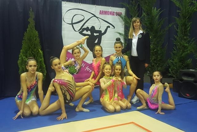 Zlatna medalja za tuzlansku gimnastičarku na turniru u Grčkoj