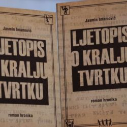 """U Domu kulture u Srebreniku promoviran roman """"Ljetopis o kralju Tvrtku"""""""