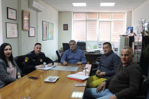 DOBOJ ISTOK: U kabinetu općinskog načelnika održan radni sastanak