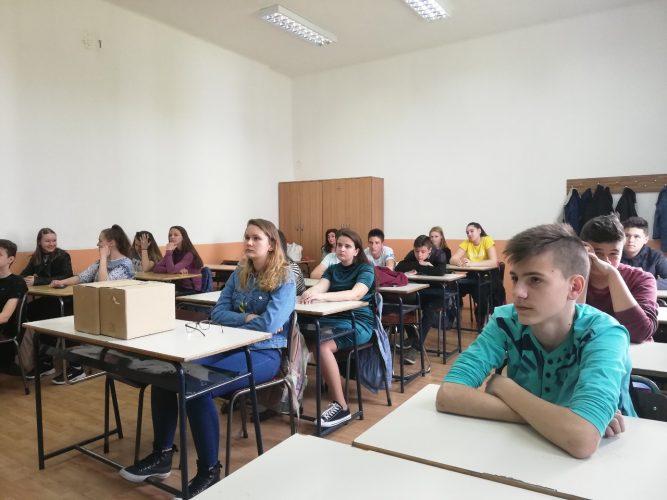 Promocija poduzetništva i obrtništva u Osnovnoj školi Pazar u Tuzli i Mješovitoj srednjoj školi u Živinicama