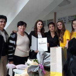 JU MSŠ ŽIVINICE: Učenica generacije Amina Nuhić