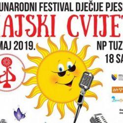 """U subotu Međunarodni festival dječije pjesme """"Majski cvijet"""""""