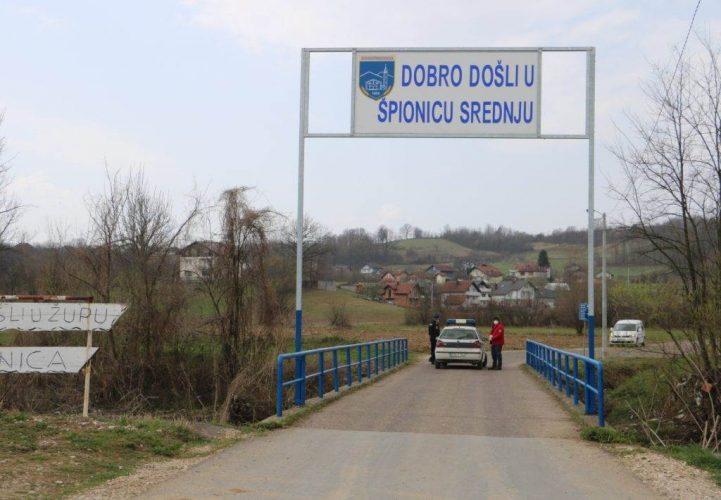 Srednja Špionica kod Srebrenika drugo žarište u TK-u: Od COVID-19 oboljelo osam osoba