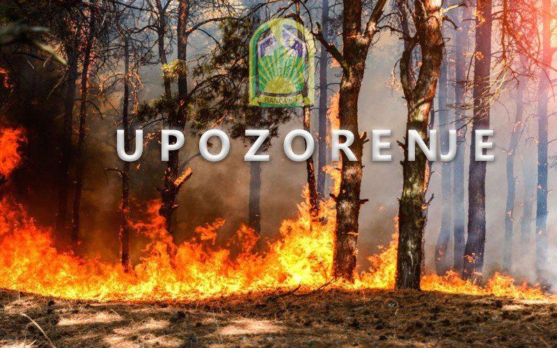 Banovići: Upozorenje i apel građanima