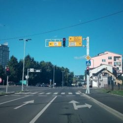 Semafor kod Livnice čelika uključen u zeleni val