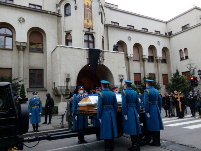 Beograd: Danas oproštaj od patrijarha Irineja, sutra sahrana