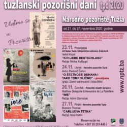Program obilježavanja Tuzlanskih pozorišnih dana od 23. do 27. novembra