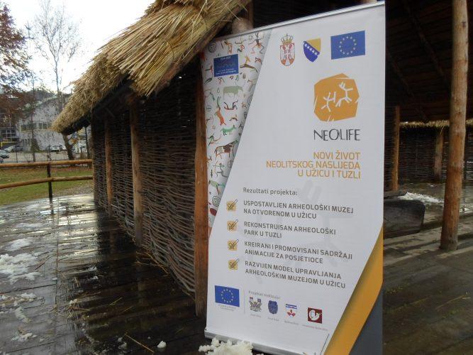 "Obnovljen Arheološki park i ""Neolitsko sojeničko naselje"" na Panonskim jezerima"