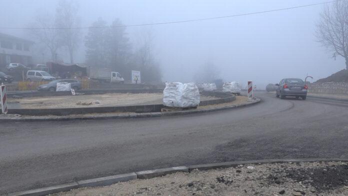 Sredinom januara bit će završeni radovi na kružnom toku na Husinu