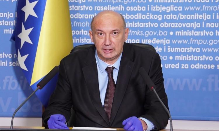 Drljača: U Federaciji će se formirati novi instituti u cilju zaštite na radu